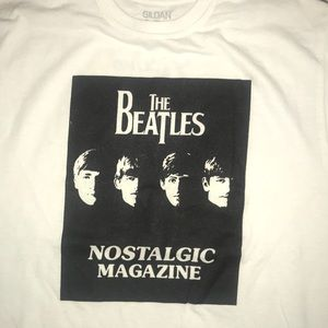 Tops - The Beatles white tee shirt